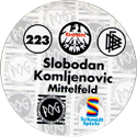 World POG Federation (WPF) > Schmidt > Bundesliga Serie 4 223-Eintracht-Frankfurt-Slobodan-Komljenovic-Mittelfeld-(back).