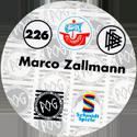 World POG Federation (WPF) > Schmidt > Bundesliga Serie 4 226-FC-Hansa-Rostock-Marco-Zallmann-(back).