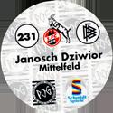 World POG Federation (WPF) > Schmidt > Bundesliga Serie 4 231-1.-FC-Köln-Janosch-Dziwior-Mittelfeld-(back).