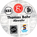 World POG Federation (WPF) > Schmidt > Bundesliga Serie 4 233-Fortuna-Düsseldorf-Thomas-Bahr-Abwehr-(back).