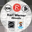 World POG Federation (WPF) > Schmidt > Bundesliga Serie 4 236-Fortuna-Düsseldorf-Karl-Werner-Abwehr-(back).