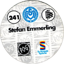 World POG Federation (WPF) > Schmidt > Bundesliga Serie 4 241-MSV-Duisburg-Stefan-Emmerling-(back).