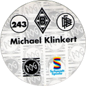 World POG Federation (WPF) > Schmidt > Bundesliga Serie 4 243-Borussia-Mönchengladbach-Michael-Klinkert-(back).
