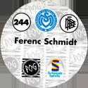 World POG Federation (WPF) > Schmidt > Bundesliga Serie 4 244-MSV-Duisburg-Ferenc-Schmidt-(back).