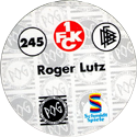 World POG Federation (WPF) > Schmidt > Bundesliga Serie 4 245-1.-FCK-Roger-Lutz-(back).