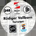 World POG Federation (WPF) > Schmidt > Bundesliga Serie 4 248-Bayer-Leverkusen-Rüdiger-Volborn-Torwart-(back).