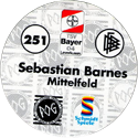 World POG Federation (WPF) > Schmidt > Bundesliga Serie 4 251-Bayer-Leverkusen-Sebastien-Barnes-Mittelfeld-(back).