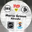 World POG Federation (WPF) > Schmidt > Bundesliga Serie 4 252-VfB-Stuttgart-Marco-Grimm-Abwehr-(back).