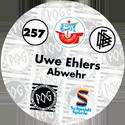 World POG Federation (WPF) > Schmidt > Bundesliga Serie 4 257-FC-Hansa-Rostock-Uwe-Ehlers-Abwehr-(back).