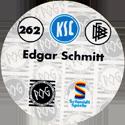 World POG Federation (WPF) > Schmidt > Bundesliga Serie 4 262-Karlsruher-SC-Edgar-Schmitt-(back).