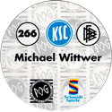 World POG Federation (WPF) > Schmidt > Bundesliga Serie 4 266-Karlsruher-SC-Michael-Wittwer-(back).