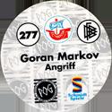 World POG Federation (WPF) > Schmidt > Bundesliga Serie 4 277-FC-Hansa-Rostock-Goran-Markov-Angriff-(back).