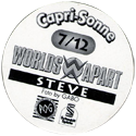 World POG Federation (WPF) > Schmidt > Capri-Sonne Worlds Apart Back-name.