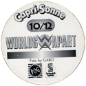 World POG Federation (WPF) > Schmidt > Capri-Sonne Worlds Apart Back-no-name.