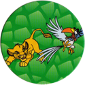 World POG Federation (WPF) > Selecta > Lion King 29-Young-Simba-chasing-Zazu.