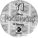 World POG Federation (WPF) > Selecta > Pocahontas 71-back.
