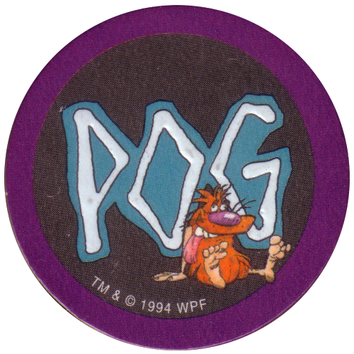 POG Série 1 N°23 Avimage 1995 The World Pog Federation