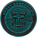World POG Federation (WPF) > Space Precinct Kinis Cyan-02-Space-Precinct-Badge.