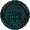 World POG Federation (WPF) > Space Precinct Kinis Cyan-05-Space-Precinct-Badge.