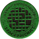World POG Federation (WPF) > Space Precinct Kinis Green-03-Gerry-Anderson's-Space-Precinct.