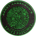 World POG Federation (WPF) > Space Precinct Kinis Green-04-Gerry-Anderson's-Space-Precinct.