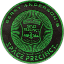 World POG Federation (WPF) > Space Precinct Kinis Green-05-Space-Precinct-Badge.