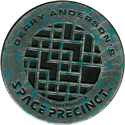 World POG Federation (WPF) > Space Precinct Kinis Sliver-and-cyan-stars-03-Gerry-Anderson's-Space-Precinct.