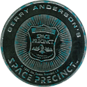 World POG Federation (WPF) > Space Precinct Kinis Sliver-and-cyan-stars-05-Space-Precinct-Badge.