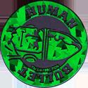 World POG Federation (WPF) > The Tick Kinis Green-Human-Bullet.