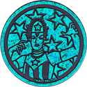 World POG Federation (WPF) > The Tick Kinis Turquoise-American-Maid.