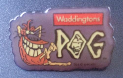 Waddingtons POG pin badge
