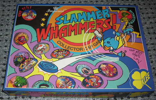Slammer Whammers Collector Cap Game (Germany)