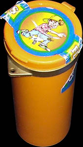 Flip Caps container tube (orange)