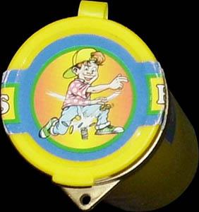 Flip Caps container tube (yellow)